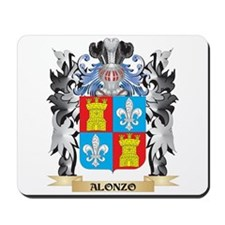 Alonzo Coat of Arms - Family Crest Mousepad