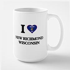 I love New Richmond Wisconsin Mugs