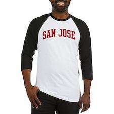 SAN JOSE (red) Baseball Jersey