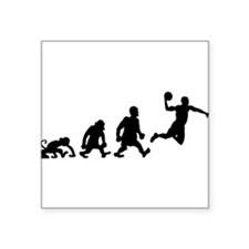 basket dunk darwin evolution Sticker