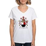 Weiters Family Crest Women's V-Neck T-Shirt
