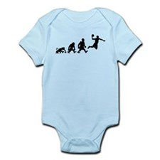 basket dunk darwin evolution Body Suit