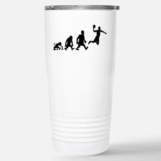 basket dunk darwin evol Stainless Steel Travel Mug