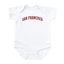 SAN FRANCISCO (red) Infant Bodysuit