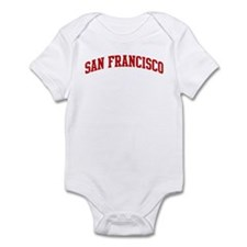 SAN FRANCISCO (red) Onesie