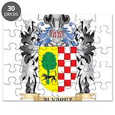 Alvarez Coat of Arms - Family Crest Puzzle