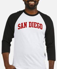SAN DIEGO (red) Baseball Jersey