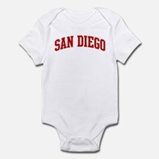 SAN DIEGO (red) Infant Bodysuit