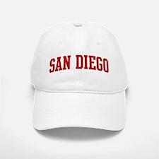 SAN DIEGO (red) Baseball Baseball Cap