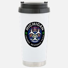 Michigan Zombie Respons Travel Mug