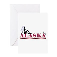 Alaska Bride Greeting Card