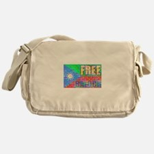 Balochistan Flag Messenger Bag