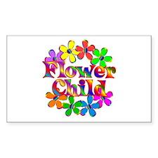 Retro Flower Child Decal