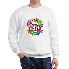 Retro Flower Child Sweatshirt
