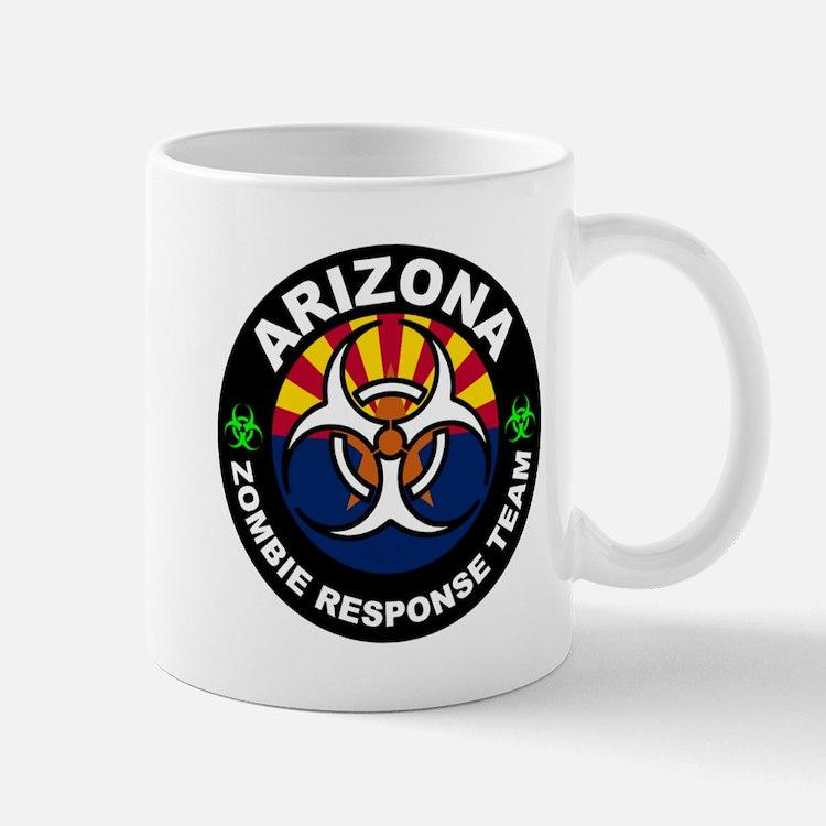 Arizona Zombie Response Team White Mugs
