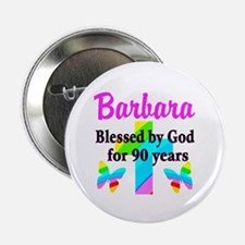 """90 YR OLD BLESSING 2.25"""" Button (10 pack)"""