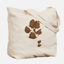 Muddy Paws On My Heart Tote Bag