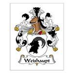 Weishaupt Family Crest  Small Poster