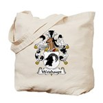 Weishaupt Family Crest  Tote Bag