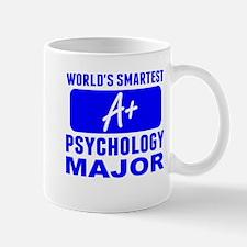 Worlds Smartest Psychology Major Mugs