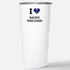 I love Racine Wisconsin Stainless Steel Travel Mug