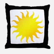 Bright Sunshine (style A) Throw Pillow
