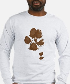 Muddy Double Dew Print Long Sleeve T-Shirt