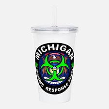 Michigan Zombie Respon Acrylic Double-wall Tumbler