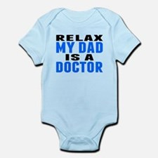 My Dad Is A Doctor Body Suit