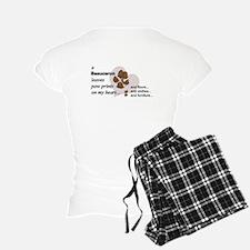 Muddy Double Dew Print Women's Light Pajamas