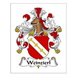 Weinzierl Family Crest Small Poster