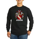 Weinzierl Family Crest Long Sleeve Dark T-Shirt