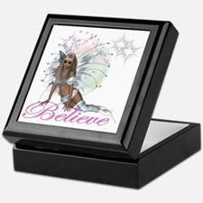 believe fairy moon.png Keepsake Box