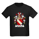 Weinzierl Family Crest Kids Dark T-Shirt