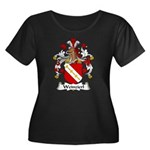Weinzierl Family Crest Women's Plus Size Scoop Nec
