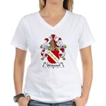 Weinzierl Family Crest Women's V-Neck T-Shirt