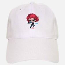 Chibi Black Widow Stylized Baseball Baseball Cap