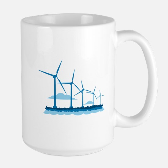 Offshore Wind Farm Mugs