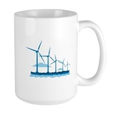 Offshore Wind Farm Mugs