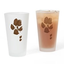 Muddy double dew print Drinking Glass