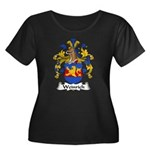 Weinrich Family Crest Women's Plus Size Scoop Neck