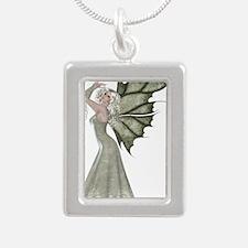 pretty green fairy Necklaces