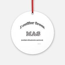 Affenpinscher Syndrome Ornament (Round)