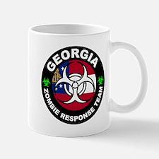 Georgia Zombie Response Team White Mugs