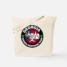 Georgia Zombie Response Team White Tote Bag