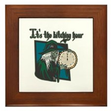 It's the Bitching Hour Framed Tile