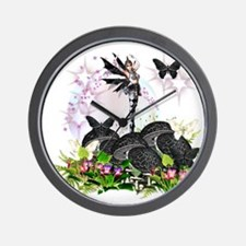 Garden Fairies - Elf Series6 Wall Clock