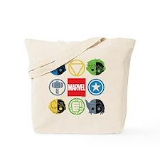 Chibi Avengers Stylized Icons Tote Bag