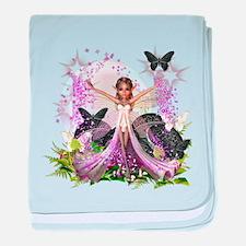 Garden Fairies - Elf Series 10 baby blanket