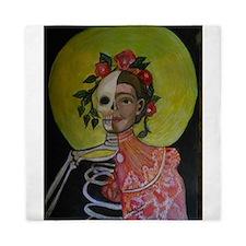 Frida's Obsessions Queen Duvet